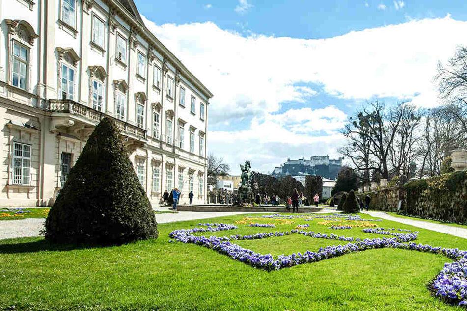 Vor der malerischen Kulisse von Schloss Mirabell in Salzburg sollte eine Eheschließung stattfinden.