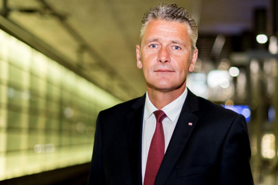 Hans-Hilmar Rischke, Leiter Konzernsicherheit bei der Deutschen Bahn.