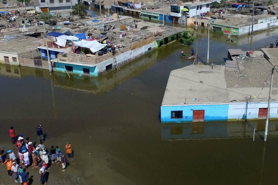 Das Unwetter-Chaos forderte 85 Menschenleben.