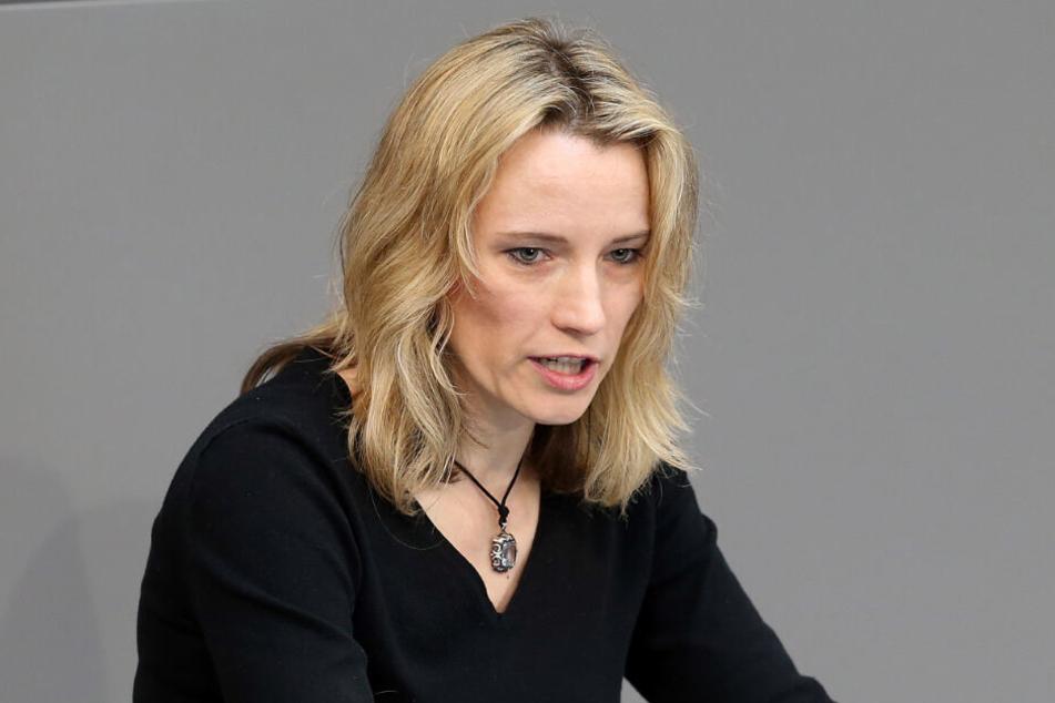Schriftlich teilte Verena Hartmann (45) der AfD ihre Entscheidung mit.