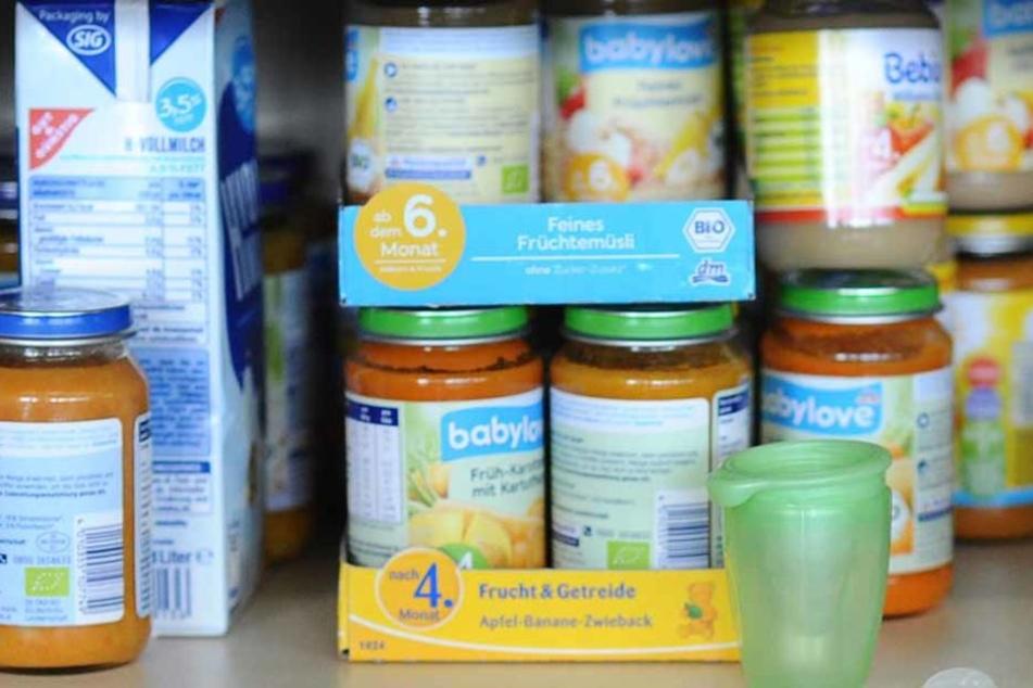 Babynahrung hat ein Unbekannter mit Gift präpariert. Die Polizei in Konstanz ist alarmiert. Der Unbekannte fordert Millionen. (Symbolfoto)