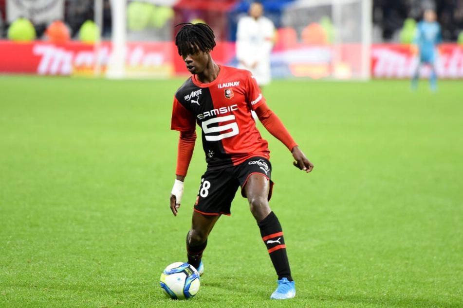 Wird er der teuerste U18-Spieler der Fußball-Geschichte? Eduardo Camavinga.