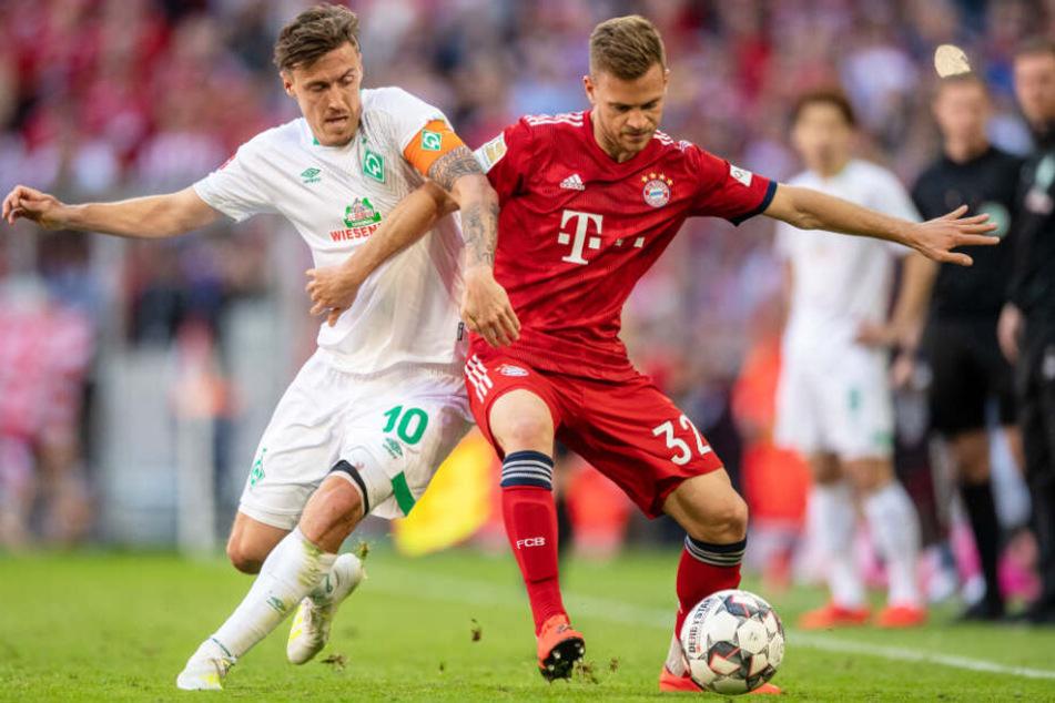 Der FC Bayern München konnte den SV Werder Bremen letztlich mit 1:0 schlagen.
