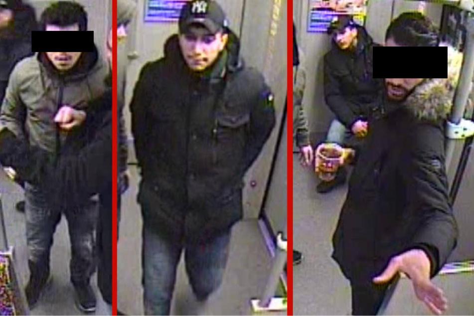 Fahrgast verprügelt und U-Bahn lahmgelegt: Wer kennt diese Männer?