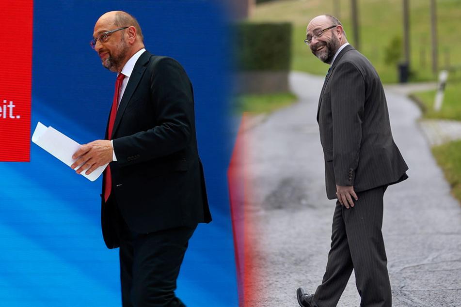 Doppelgänger aus dem Erzgebirge: Sachse sieht aus wie Martin Schulz