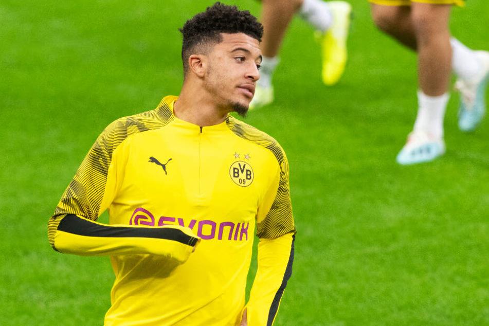 Jadon Sancho steht nach seiner Disziplinlosigkeit vor dem Spiel in Barcelona wieder im BVB-Kader.