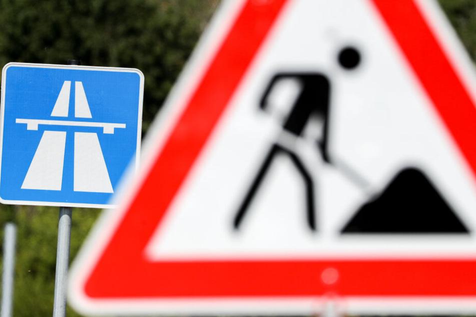 Ab Samstag wird auf der A4 im Bereich der Anschlussstelle Dresden-Hellerau die Schutzeinrichtung im Mittelstreifen umgebaut.