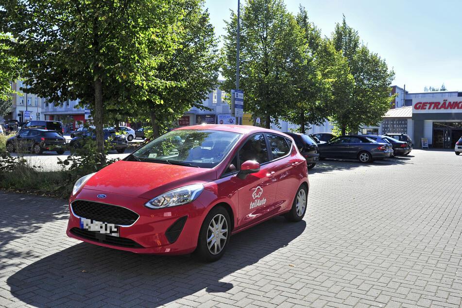 Durch den Umbau des Parkplatzes soll die Carsharing-Station wegfallen.