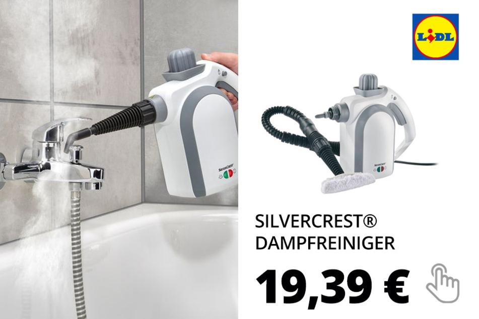SILVERCREST® Dampfreiniger »SDR 1100 C3«, mit 8-teiligem Zubehörset, 250 ml Wassertank