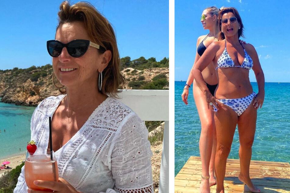 Claudia Obert (59) präsentiert sich auf Instagram.