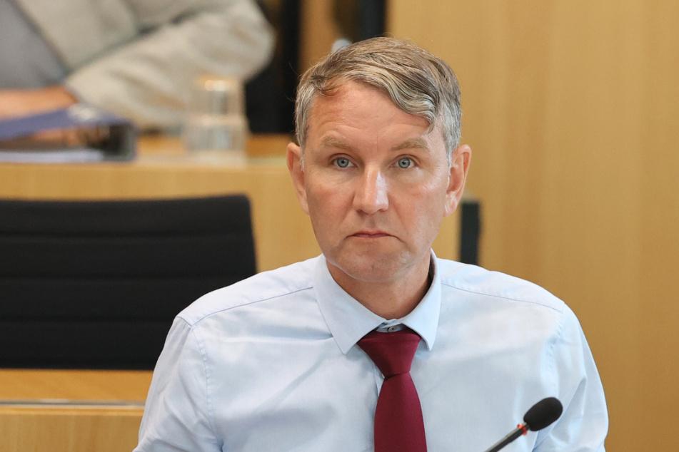Björn Höcke erhielt nur Stimmen aus den Reihen der AfD.