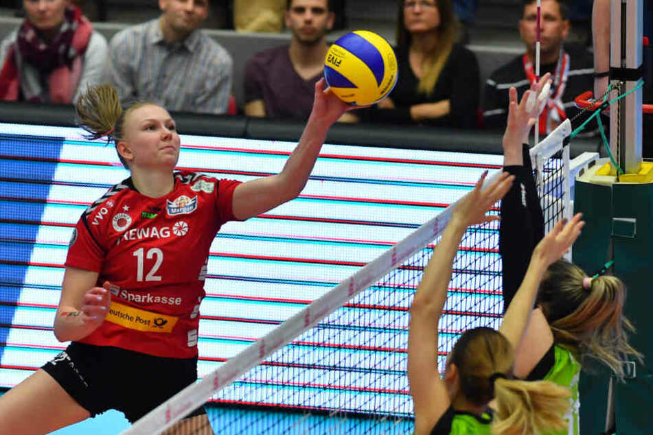 Auf die Punkte von Top-Scoreirn Piia Korhonen (21) muss der DSC erst einmal verzichten.