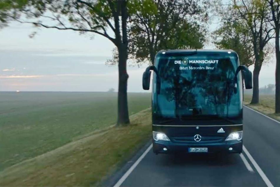 Ausschnitt aus dem Abschiedsvideo von Mercedes Benz.