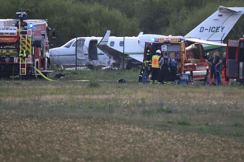 Der 82-jährige Pilot steht unter Schock und konnte noch nicht vernommen werden.