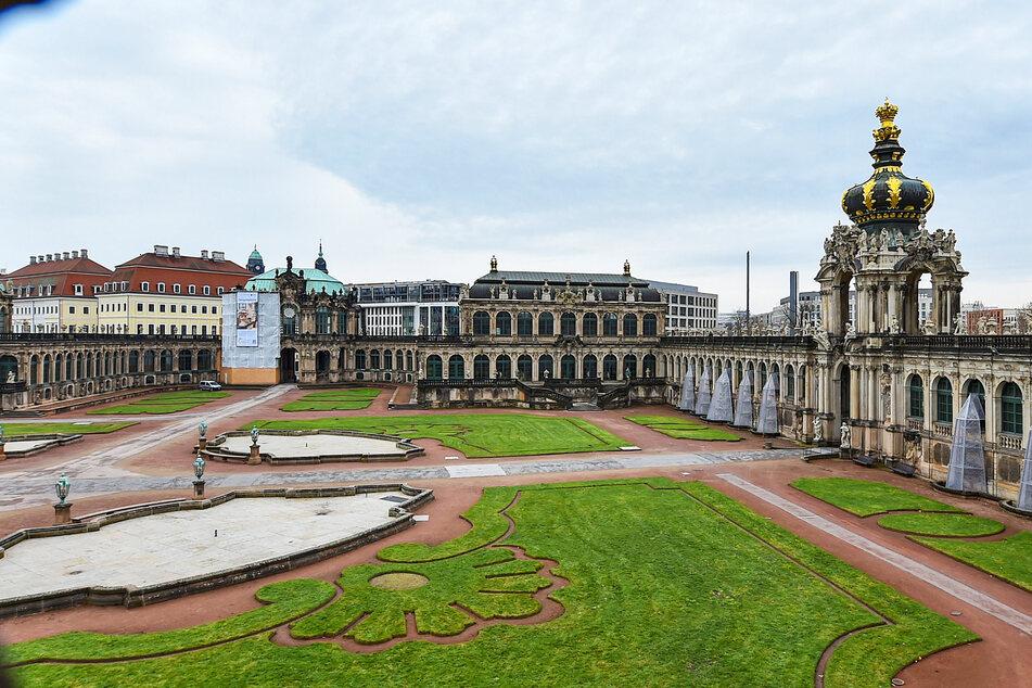 Am 26. März öffnen die Porzellansammlung und der Mathematisch-Physikalische Salon im Zwinger.