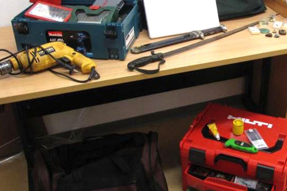 Zeugen gesucht! Erkennt jemand dieses Werkzeug wieder?