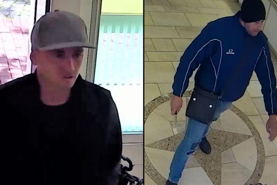 Sie raubten mit einem Messer einen Juwelier aus: Wer kennt dieses Duo?