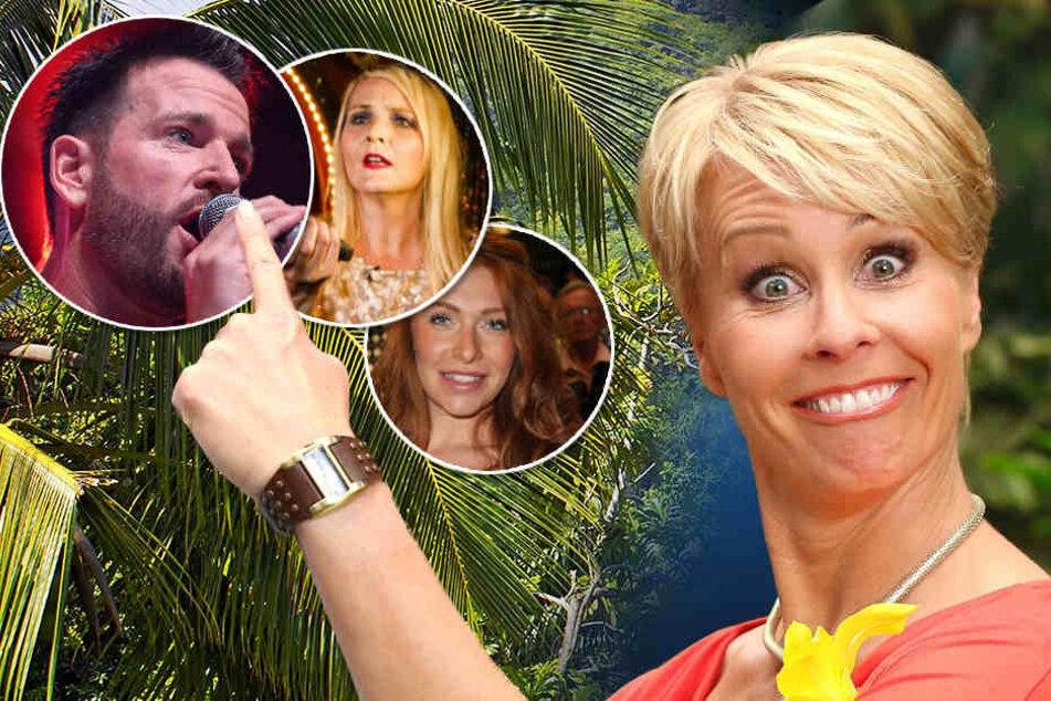 """Kommen gar nicht gut weg in Sonja Zietlows (49) Dschungel-Ranking: Schlager-Barde Michael Wendler (44), Ex-Armen-Anwältin Helena Fürst (42) und """"Bachelor""""-Buhlerin Georgina Fleur (26)."""