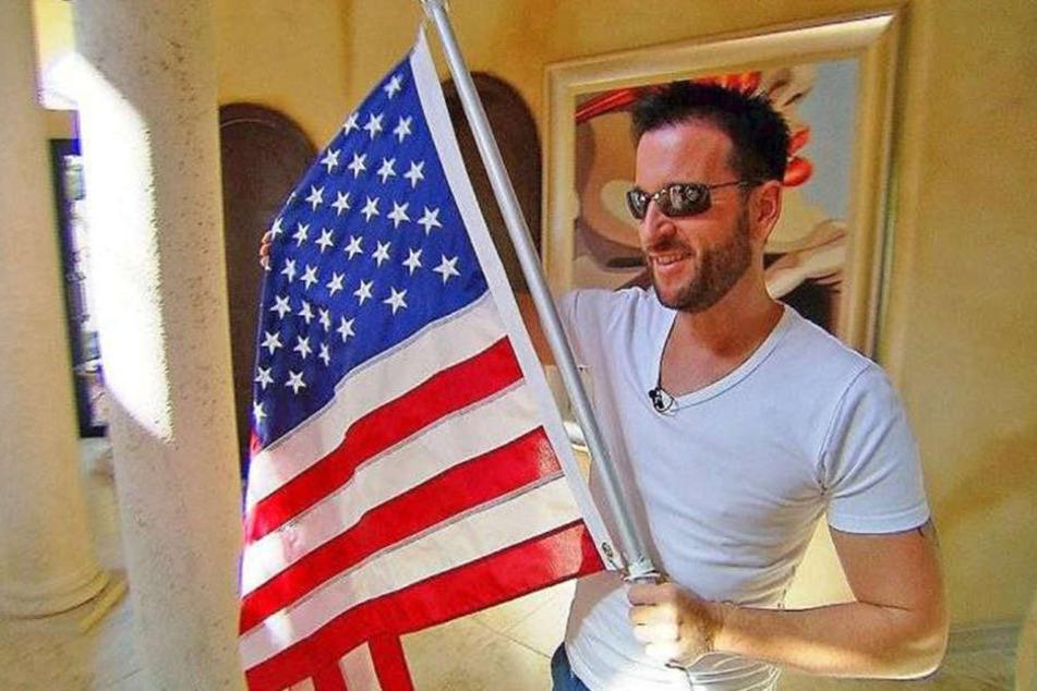 Michael Wendler scheint ein echter USA-Fan zu sein.