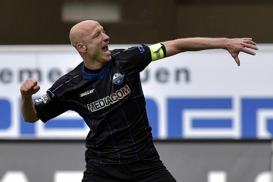SCP-Kapitän Tim Sebastian verwandelte gegen Lotte einen Hand-Elfmeter zum 2:1.