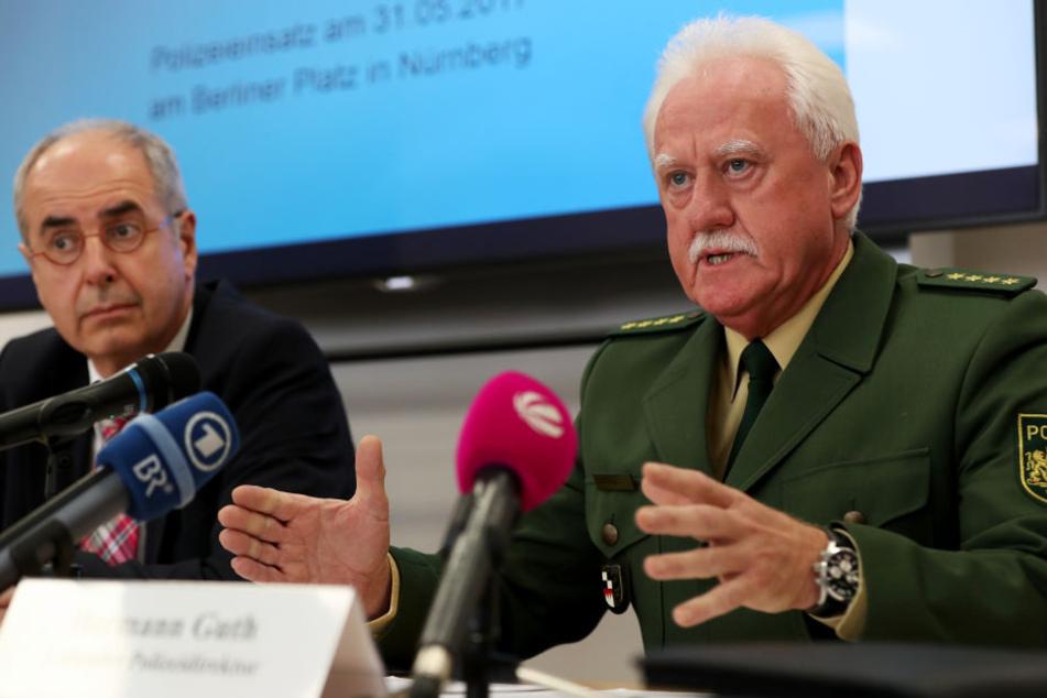 Der Leitende Polizeidirektor Hermann Guth verteidigte die Maßnahme.