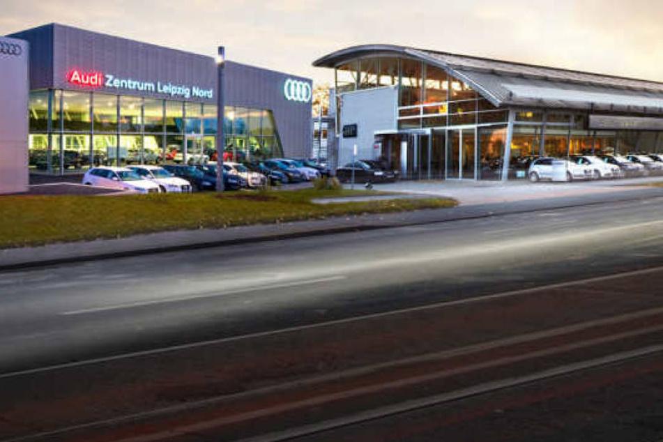 In Leipzig ist das Audi Zentrum an zwei Standorten vertreten.