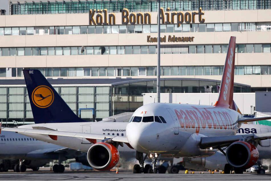 Am Flughafen Köln/Bonn werden wegen des Streiks 80 Germanwings-Flüge ausfallen (Archivbild).