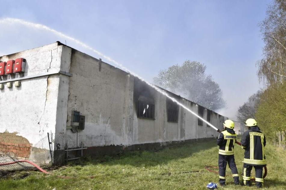 Ostprignitz: Scheunen-Brand verursacht sechsstelligen Sachschaden!