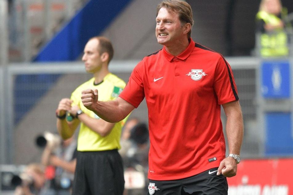 RB-Trainer Ralph Hasenhüttl kann einer Bundesligareform nichts abgewinnen.