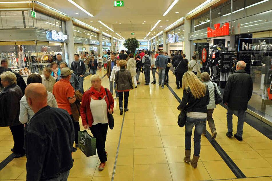 Viele gehen in die Chemnitzer City, um zu shoppen. Das Angebot scheint also zu stimmen.