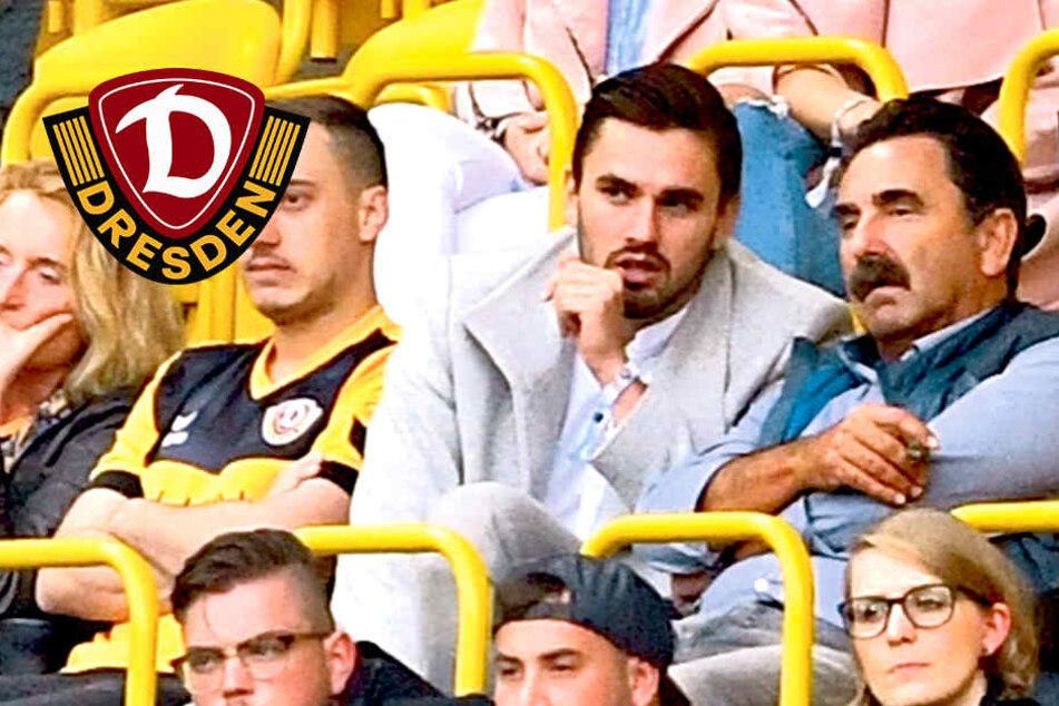 """Testroet erstmals wieder bei Dynamo im Stadion: """"Das tut schon weh!"""""""