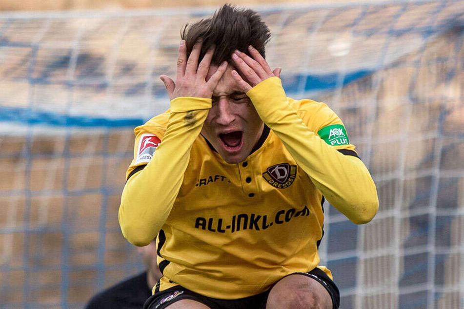 In Darmstadt ärgerte sich Baris Atik so sehr über eine Schiedsrichterentscheidung, dass er anschließend wegen Meckerns die Gelbe Karte sah.