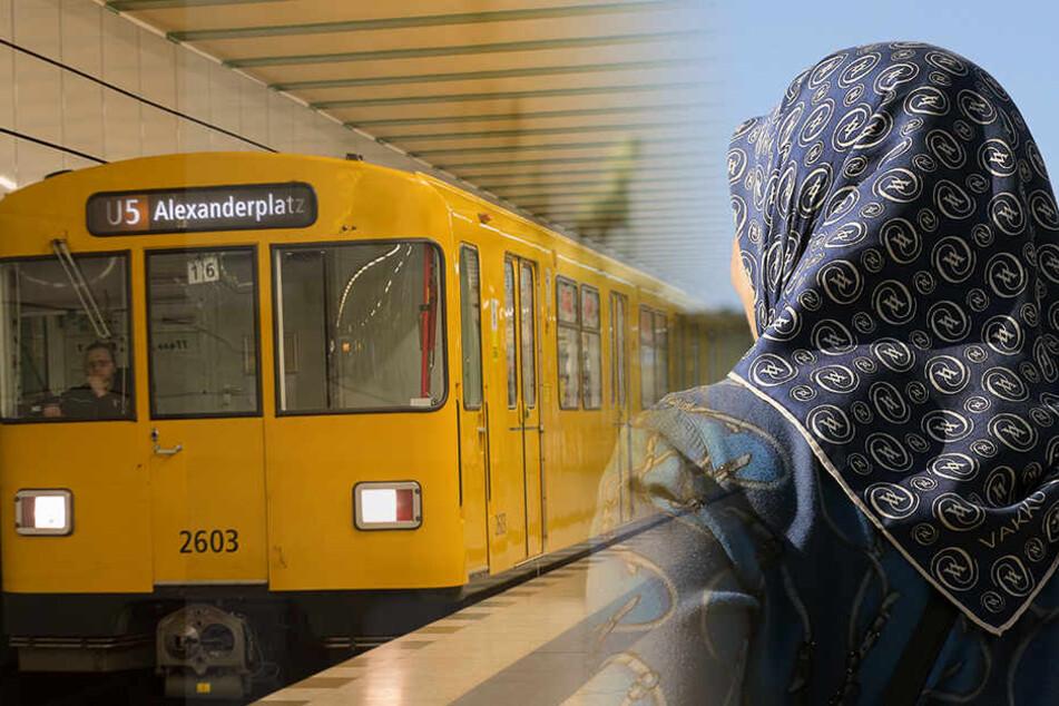 Eine junge Frau wurde in der U-Bahn fremdenfeindlich beleidigt. (Symbolbild)