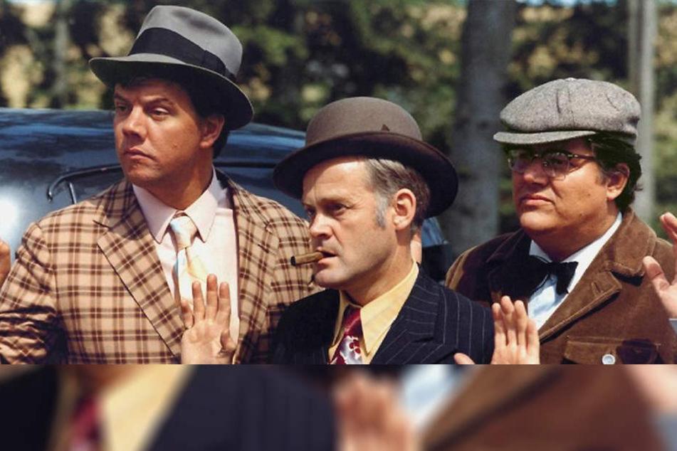 Hände hoch! Egon, Benny und Kjeld haben mal wieder einen Coup vermasselt ...