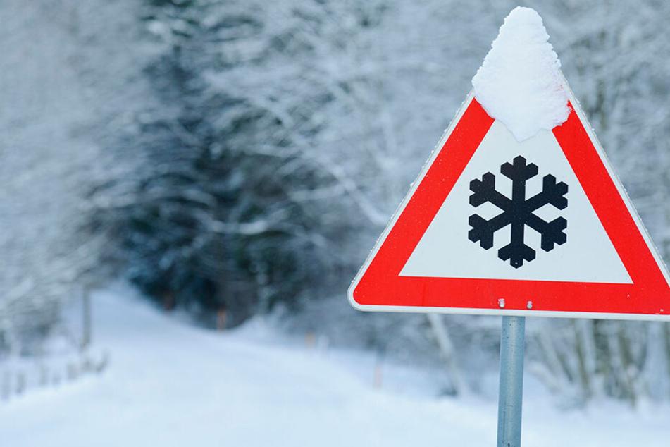 Vorsicht Schnee! Gebietsweise kann es am Sonntag bis zu 30 Zentimeter Neuschnee geben.