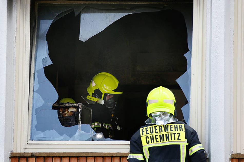 Die Feuerwehr konnte die Flammen rechtzeitig löschen. Schaden: 22 000  Euro.