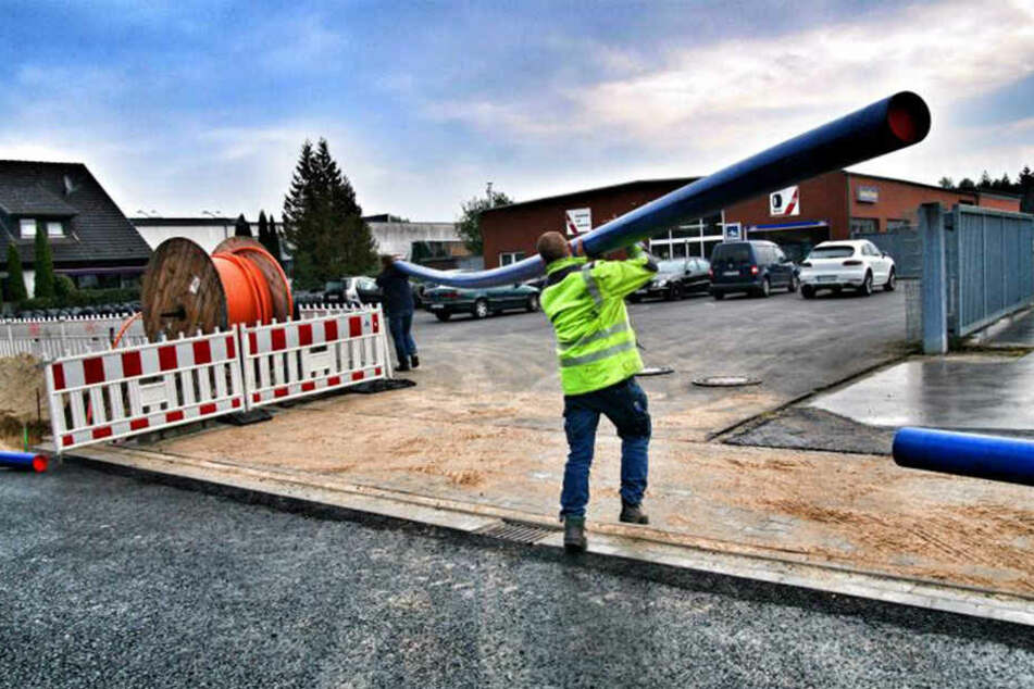 Hier entsteht die neue Max-Planck-Straße in drei Bauabschnitten.