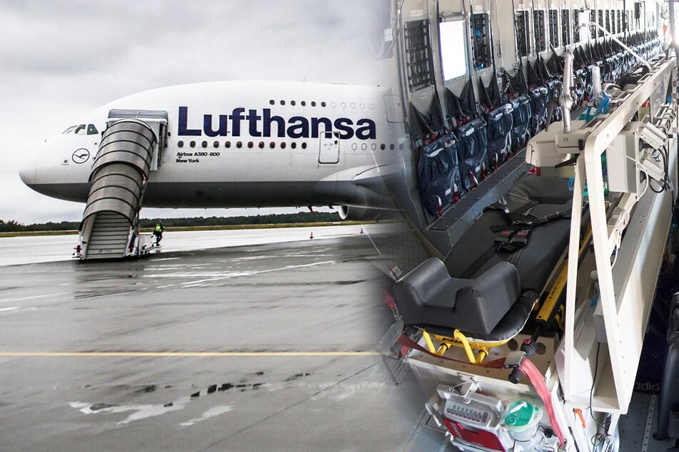 Werden jetzt Flugzeuge zu Intensivstationen umgebaut?
