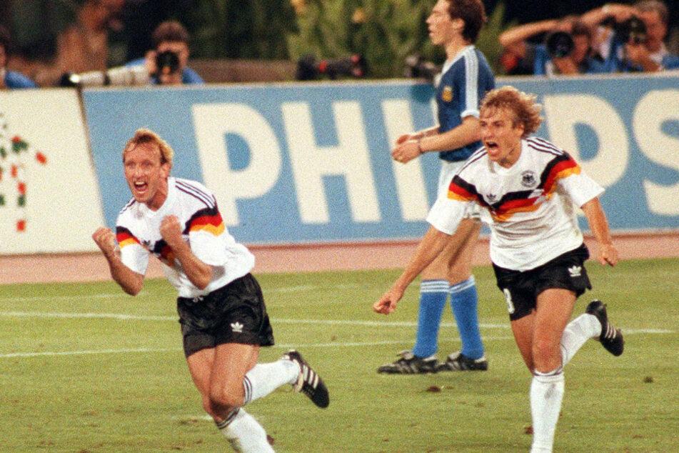 Jürgen Klinsmann (inzwischen 56, r.) war Steigers erstes Idol.