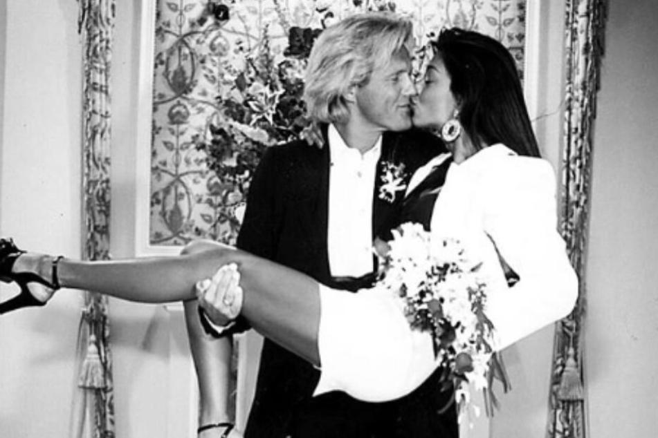 Verona Pooth (50) und Dieter Bohlen (65) waren Mitte der 90er ein Paar.