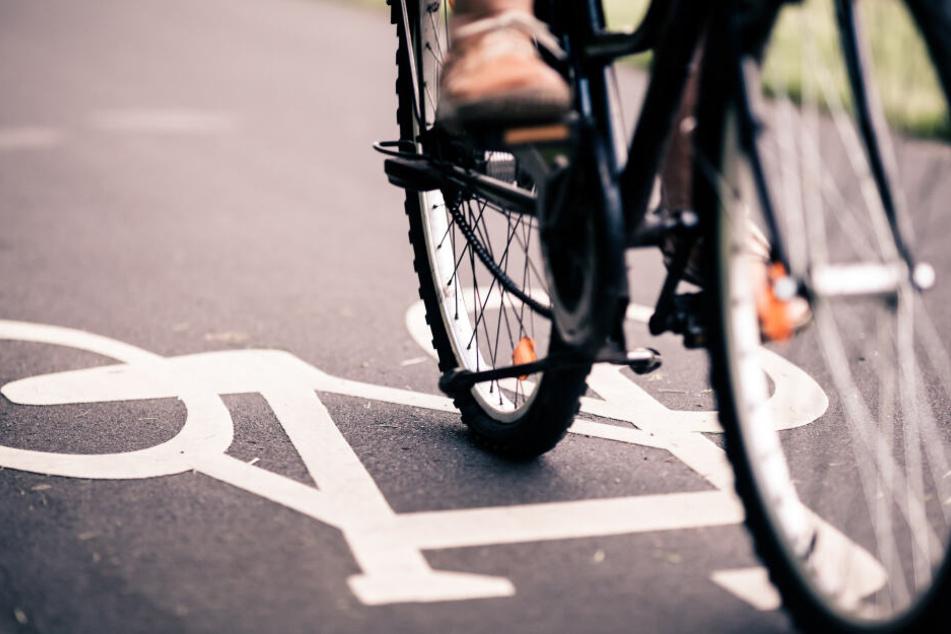 Der Unfall ereignete sich auf einem Fahrradüberweg (Symbolbild).