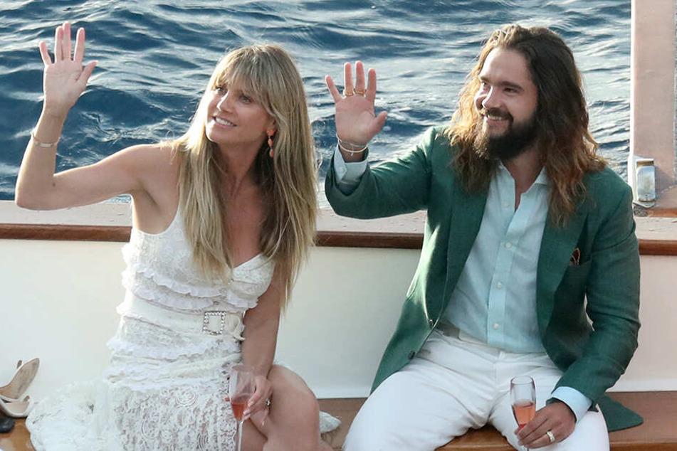Heidi (46) und Tom (29) einen Tag vor der Hochzeit.