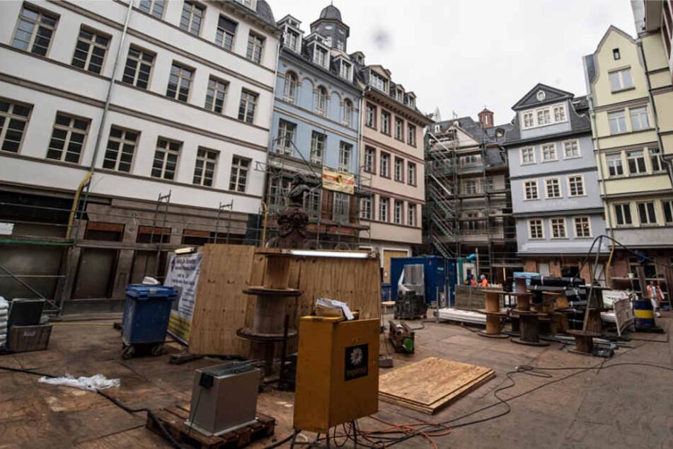 Die Wohnungen in Frankfurts neuer Altstadt wurden für 5000 bis 7000 Euro pro Quadratmeter verkauft.