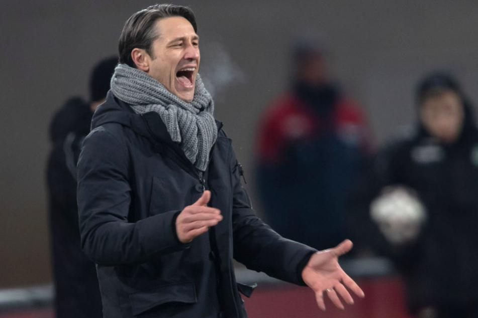 Kovac ist mit der Leistung seiner Jungs in Hannover zufrieden.