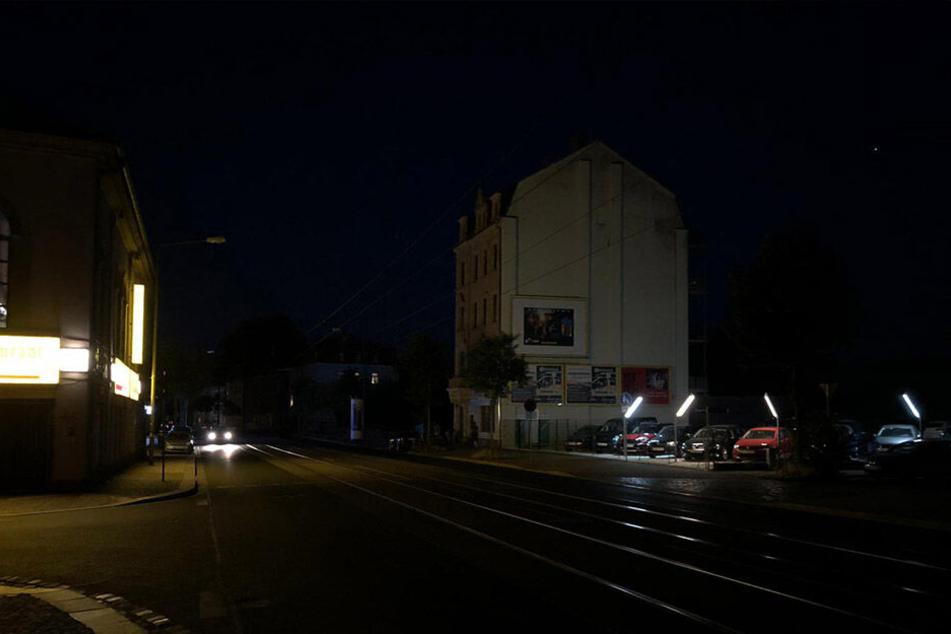 Pieschen stockdunkel! Stromausfall im Dresdner Norden