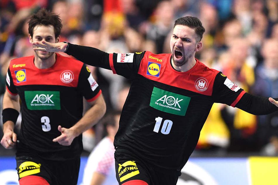 Handball-Wahnsinn! Unsere Jungs stürmen ins Halbfinale