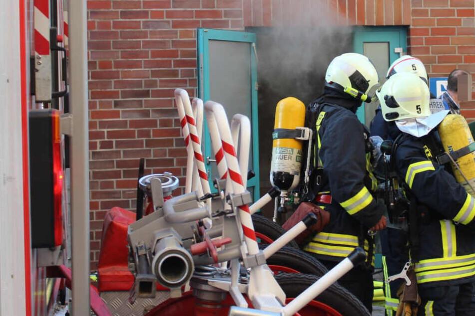Die Feuerwehr Rostock konnte das Feuer schnell löschen.