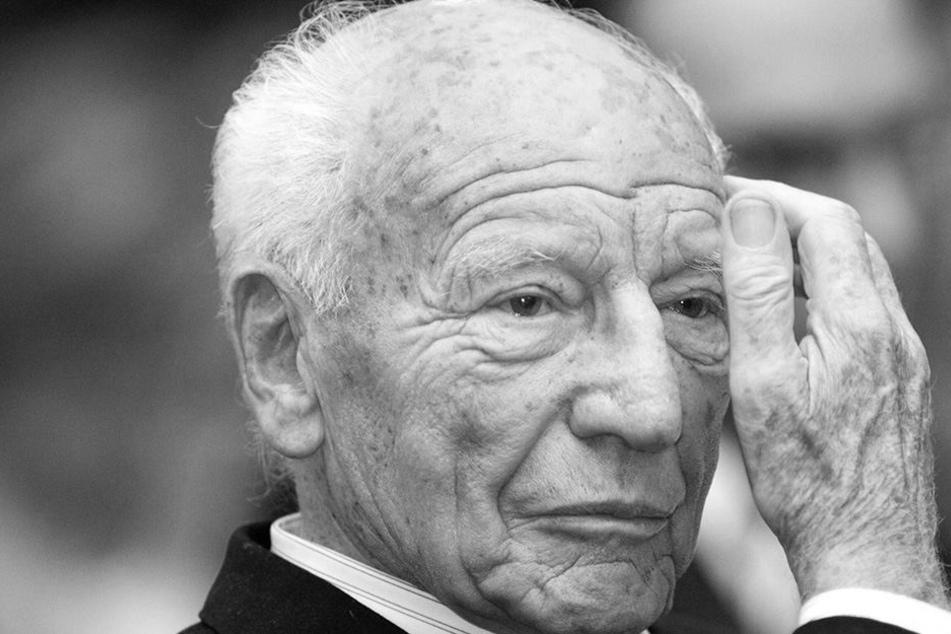 Der frühere Bundespräsident Walter Scheel starb im Alter von 97 Jahren.