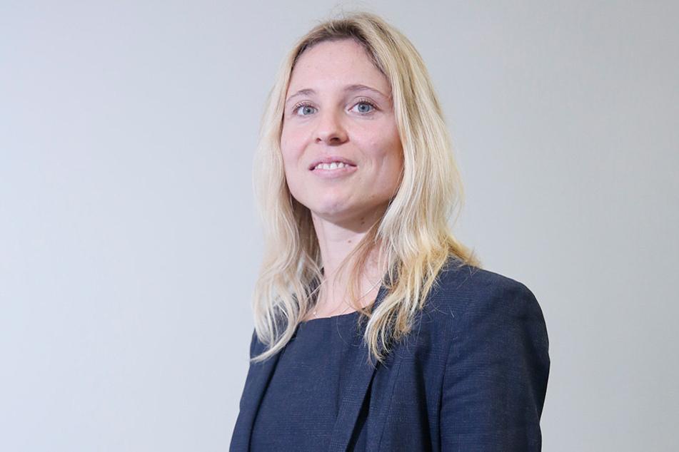 Ina Helzig (33) leitet die Klimastabsstelle der Stadtverwaltung.