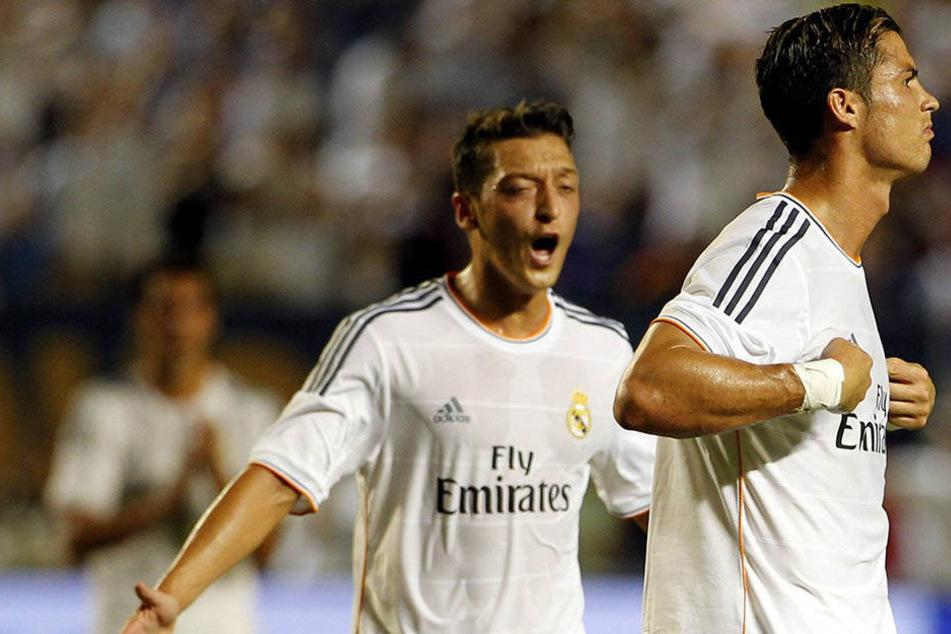 Cristiano Ronaldo (31) und Mesut Özil (28) - begnadete Kicker, aber dem Fiskus gegenüber wohl nicht ganz ehrlich.